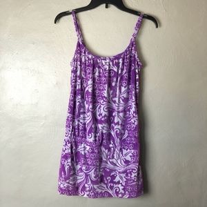 Lucky Brand Adjustable Strap Bathing Suit Coverup